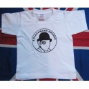 T-shirt enfant Clockwork Orange /Orange Mecanique blanc et noir