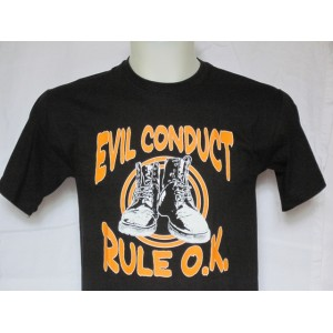 T-shirt EVIL CONDUCT  Rule OK