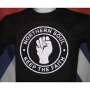 t-shirt Northern Soul  Keep The Faith