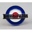 Pins scooter Lambretta sur target cocarde