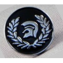 Pins casque trojan lauriers
