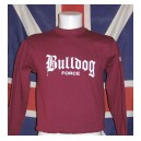 Sweat-shirt Bulldog force lettrage