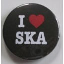 Badge I love Ska
