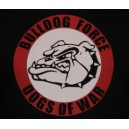 Sweat capuche Bulldog force  dogs of war