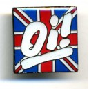 Pins oi! sur union jack