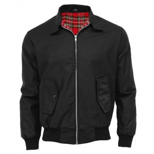Harrington. jacket JB .NOIR