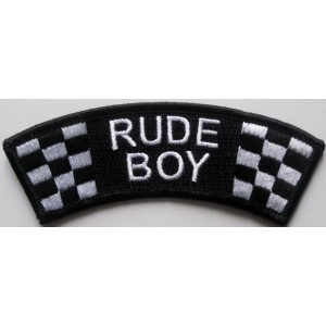 Patch d'epaule Rude Boy