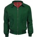 Harrington jacket JB . Bottle green