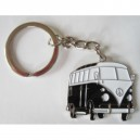 Porte cles metal bus VW noir