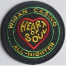 Patch Wigan Casino All nighter -Heart of Soul