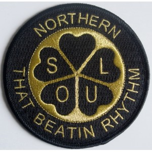 Patch Skinhead a way of life- boots- noir et or