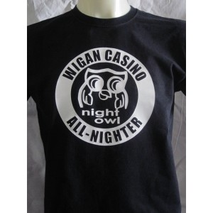 t-shirt Wigan Casino all nighter  Northern soul
