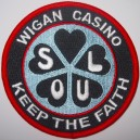Patch Wigan Casino Keep - Soul - Keep The Faith