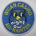 Wigan Casino All Nighter - night owl patch