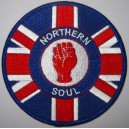 Northern Soul Union Jack patch