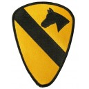"1st Cavalry Division ""First Team"" patch."
