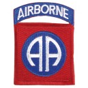 "82nd Airborne Division patch. ""All American Division"""