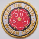 Northern Soul patch. Keep the faith  -Wigan Casino