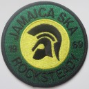 Patch Trojan Jamaica Ska Rocksteady 1969. black green yellow