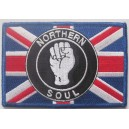 Northern Soul Union Jack patch. n2