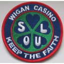 Wigan Casino Keep - Soul - Keep The Faith patch. green blue red