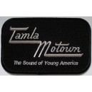 Tamla Motown patch . black and grey