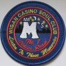 Northern Soul patch.  Wigan Casino Soul Club  - Listen to the memories