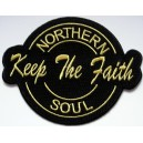 Patch Keep the faith- Northern Soul