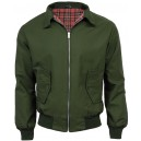 Harrington jacket JB . Olive green