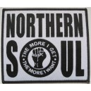 Northern Soul- The more I get , the more I want patch