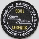 Tamla Motown soul legends patch