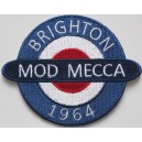 Patch Brighton 1964 Mod Mecca