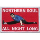 Northern Soul all night long patch