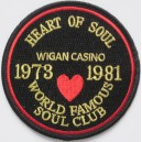 Patch heart of soul Wigan Casino 1973 1981