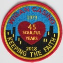 Wigan Casino 45 soulful years 1973 2018 patch