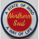 Northern Soul a state of mind a way of life patch