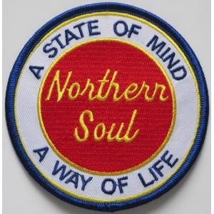 Patch Northern Soul a state of mind a way of life