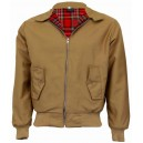 Harrington jacket JB . Camel.