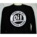 Sweat-shirt OI! Spirit of 80's Working Class