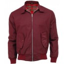 harrington jacket JB. Bordeaux