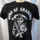 T-shirt Sons Of Anarchy. Serie télé