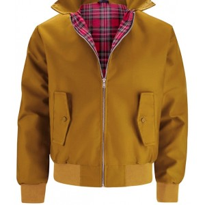 Harrington jacket JB . Mustard.