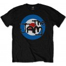 The Jam.Spray Target  T-shirt.. Official merchandise