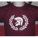 Sweat-shirt Trojan lauriers Bordeaux