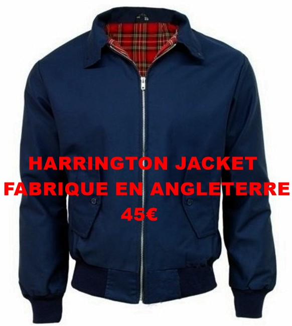 harrington jacket made in england 45€