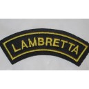 Patch d'epaule Lambretta