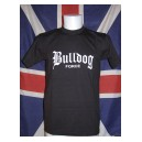 T-shirt Bulldog force lettrage