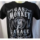 "Gas Monkey Garage  "" Blood Sweat Beers "" T-shirt. Fast'N'Loud TV show"