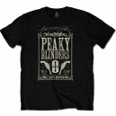 Peaky Blinders T-shirt. 1919 Small Heath  Birmingham. TV serie